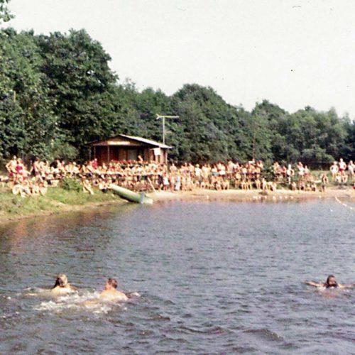 Wettschwimmen 1976